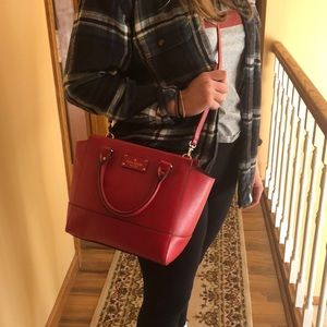 authentic Kate spade purse perfect condition
